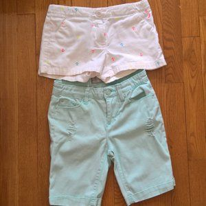 Pre-loved Tween Girl Shorts Set